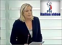 Marine Le Pen attacca Draghi