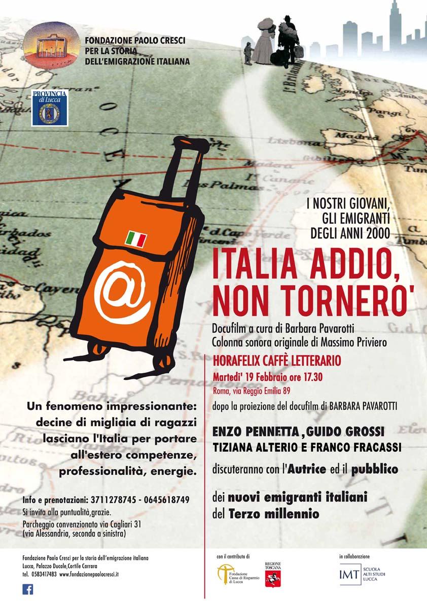 "L' Esodo dei ""Nuovi Emigranti Italiani"""